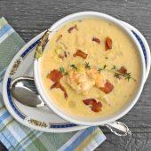 Shrimp chowder recipe