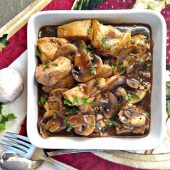 Balsamic chicken and mushrooms Whole30 recipe