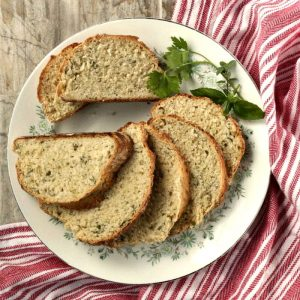 sliced Italian Herb bread