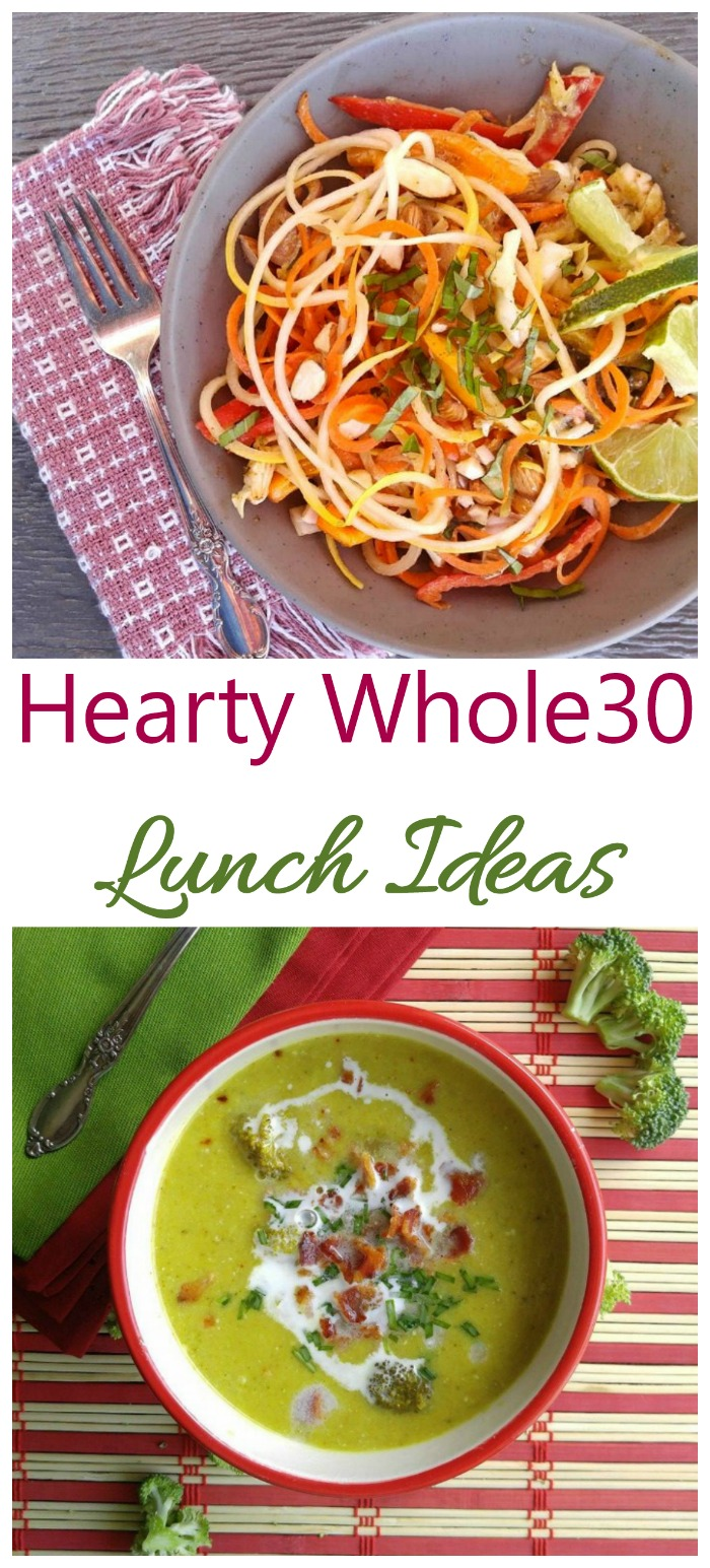 Hearty and satisfying Whole30 lunch recipes