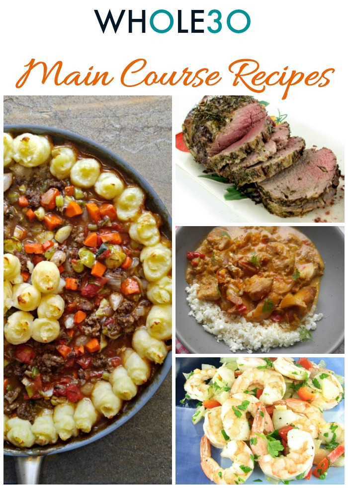 Whole30 Main course recipes