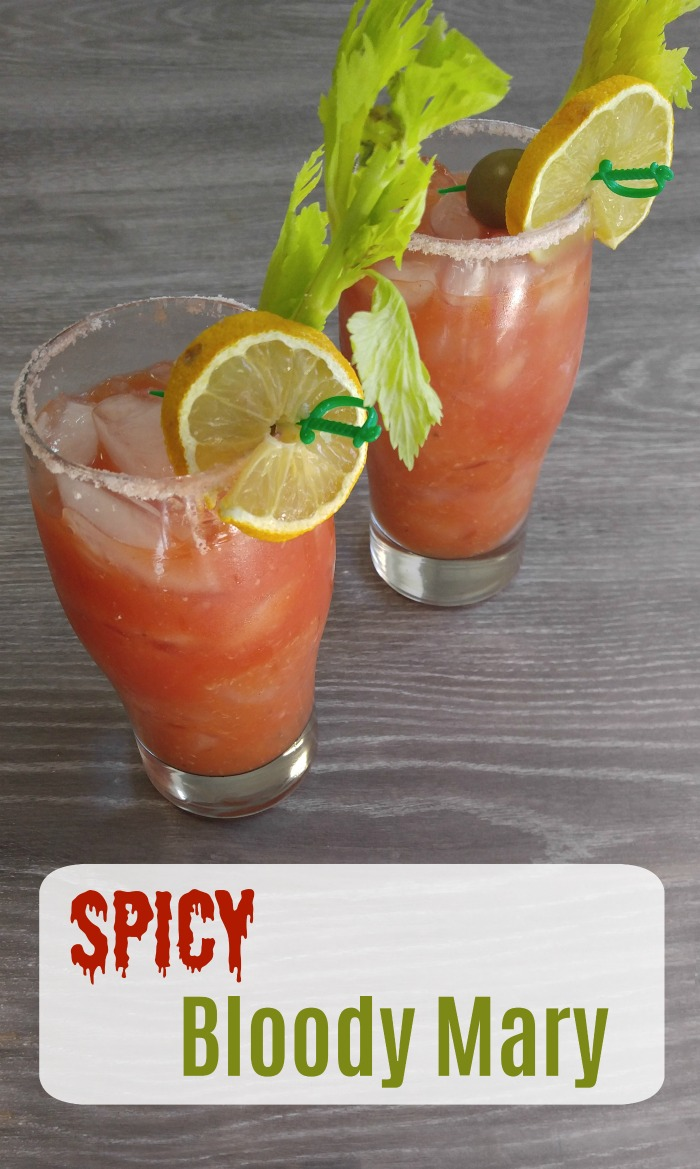 Bloody Mary Recipe - Spicy Cocktail for National Bloody Mary Day