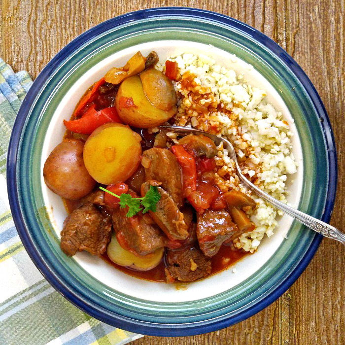 Whole30 Beef Goulash