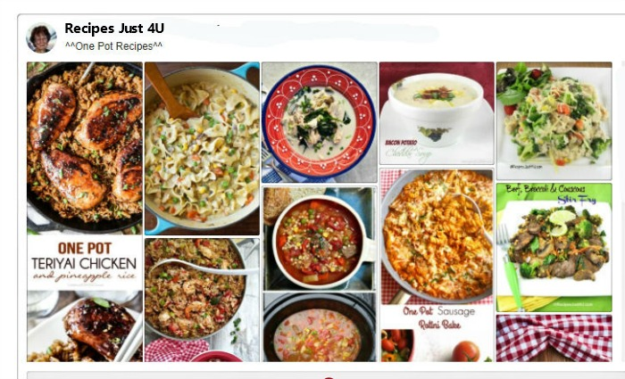 One Pot Recipes Board on Pinterest