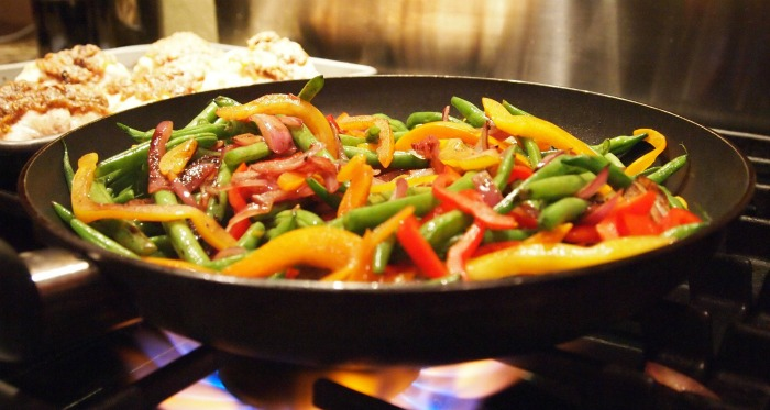 One pot stir fry