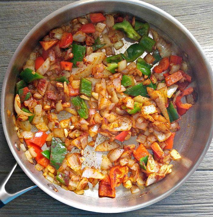 Paprika gives the One pot jambalaya a great color