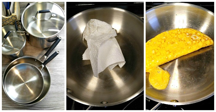 How To Cook On & Season A Stainless Steel Pan To Create A ...