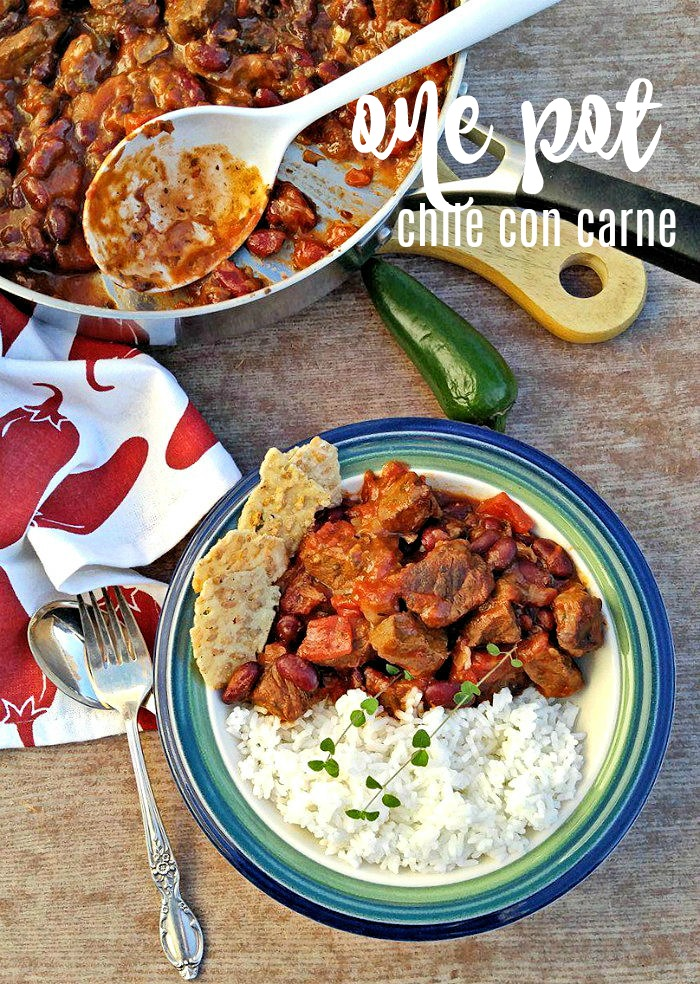 One pot chili con carne
