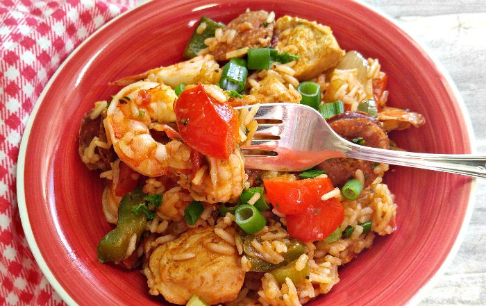 Tasting this One pot jambalaya
