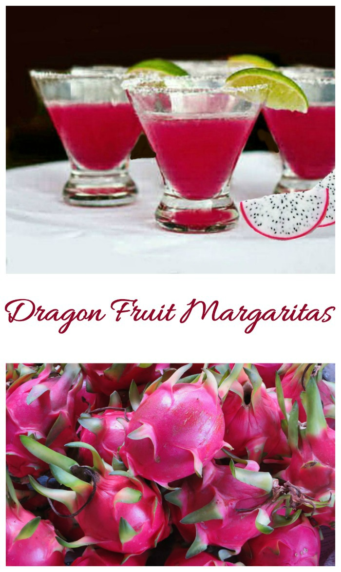 These dragon fruit margaritas take the ordinary cocktail to a whole new level by using the fruit of a cactus plant. Find out all about dragon fruit and how to make this tasty drink on my site.