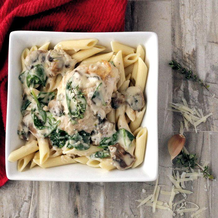 Garlic chicken parmesan recipe
