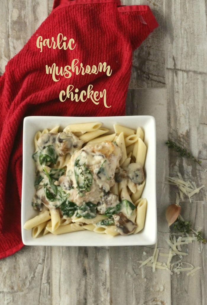 Creamy Garlic Parmesan chicken