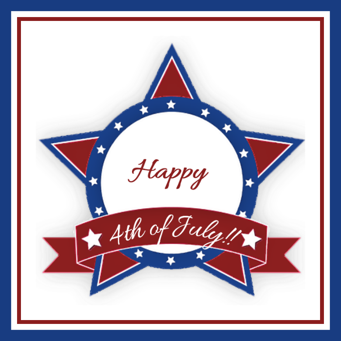 4th of July printable for the candy jars