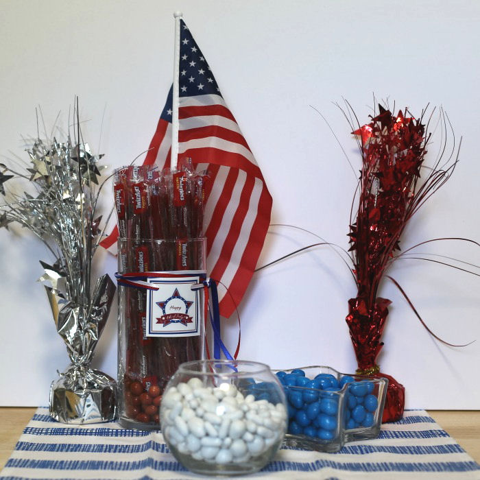 4th July candy table