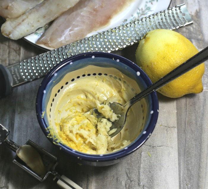 marinade coating for fish