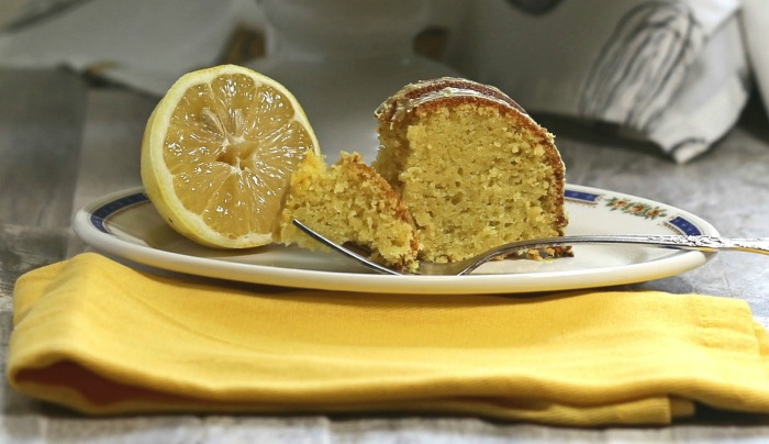 This lemon pudding bundt cake is extra moist and full of flavor.