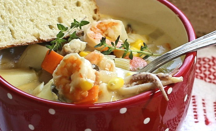 Taste of New England Seafood Chowder