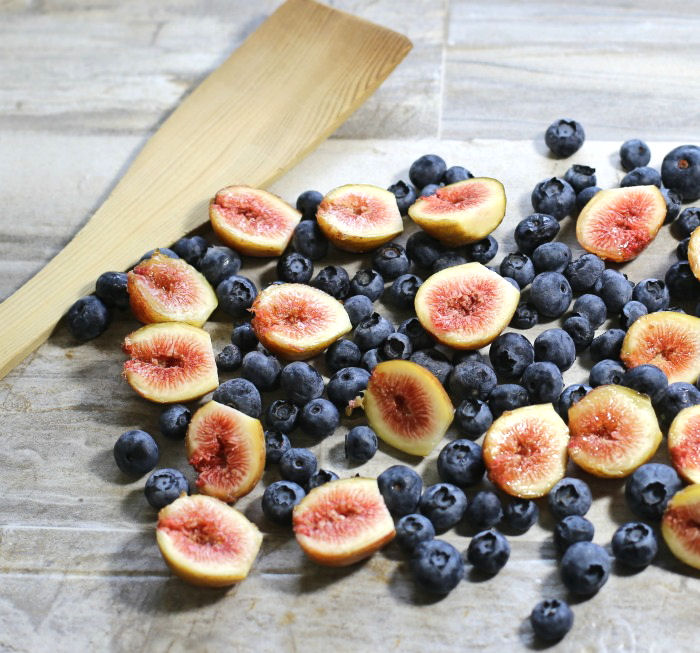 blueberries and fresh figs