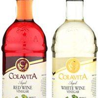 Colavita Special Aged Wine Vinegar, Red/White, 34 Ounce
