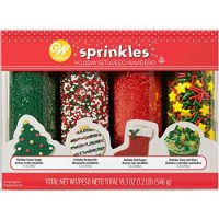 Wilton Holiday Sprinkles 4-Pack