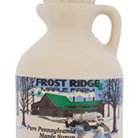 Frost Ridge Maple Farm, Organic Maple Syrup, Grade A, Pint (16 FL Oz), Medium Amber Rich
