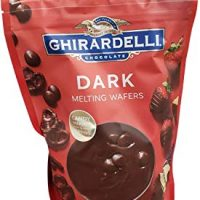 Ghirardelli Chocolate Dark Candy Malting Wafers, 30 Ounce