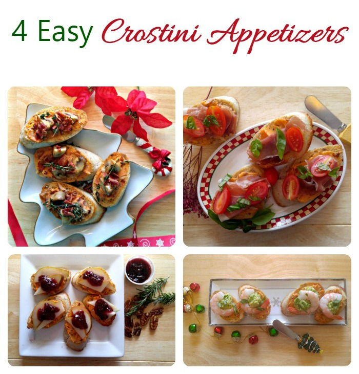 Easy Crostini Party Appetizer Recipes