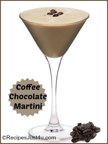 Coffee Chocolate Martini Recipe
