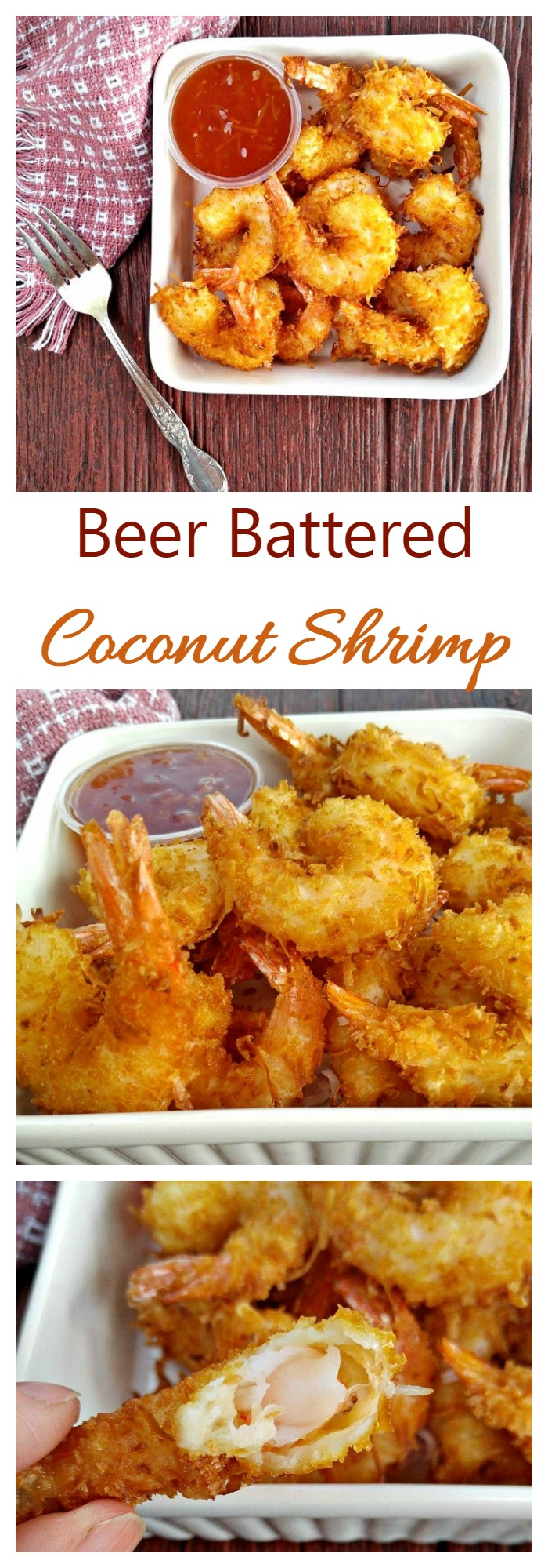 Easy Beer Battered Coconut Shrimp