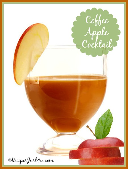 Coffee Apple Cocktail
