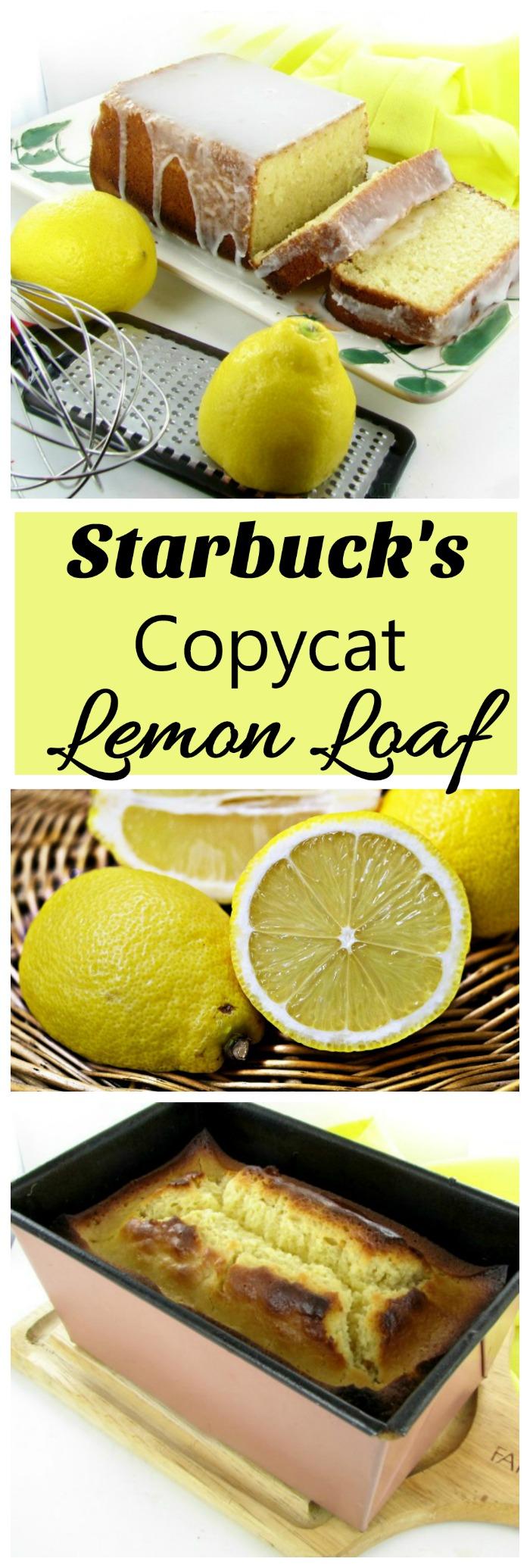 Copycat Recipe: Starbucks Lemon Loaf