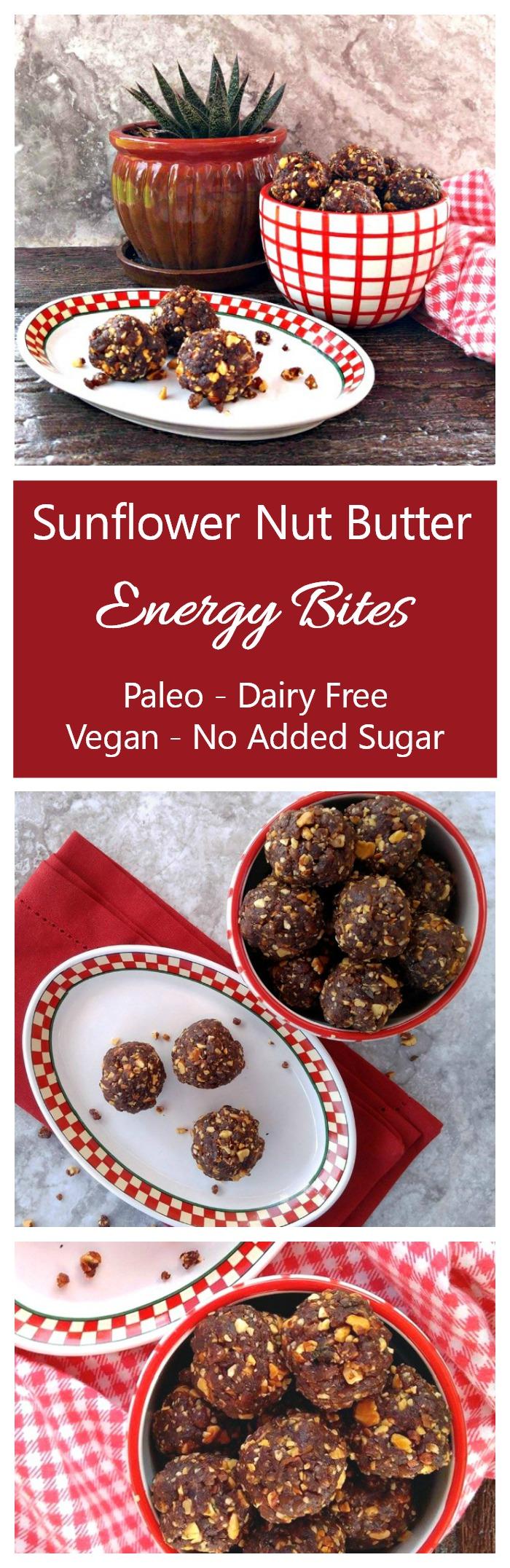 Sunflower Nut Butter Energy Bites