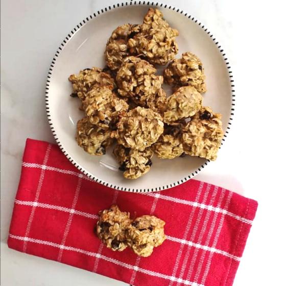 Soft oatmeal cookie