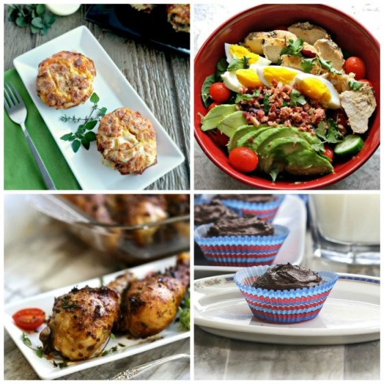 Collection of healthy recipes