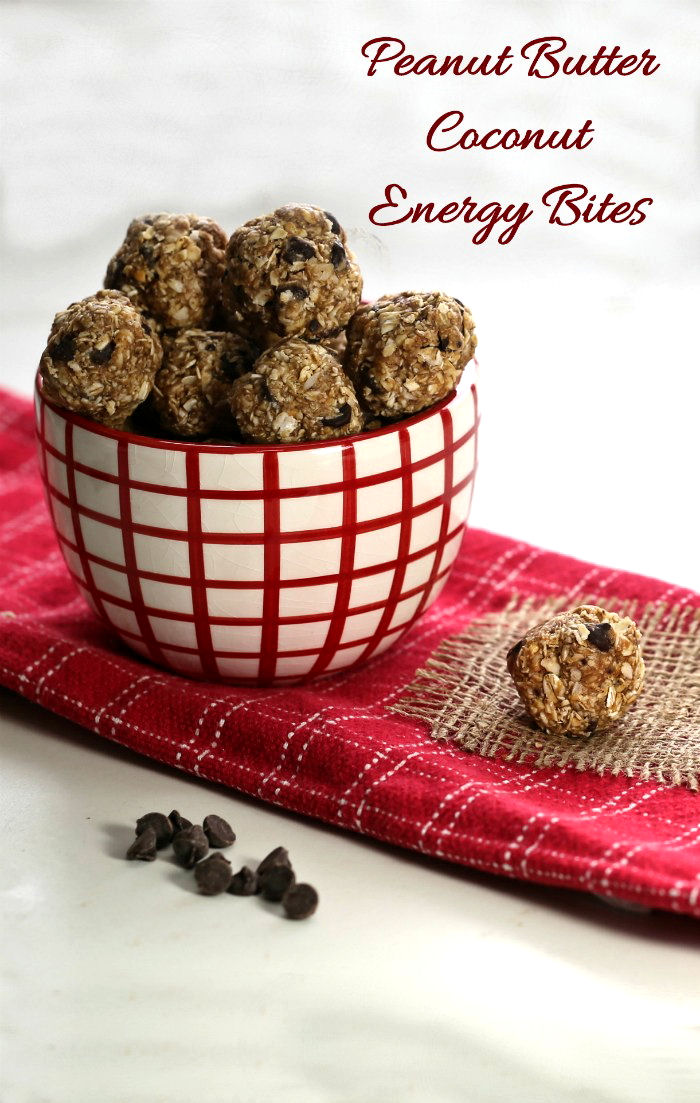 This easy peanut butter balls recipe features coconut and dark chocolate for one terrific bite.