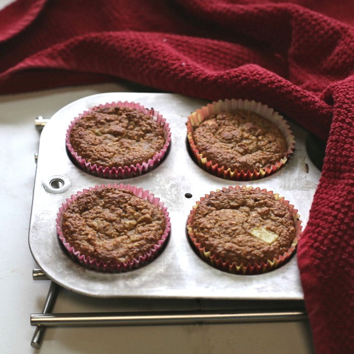 Muffins in a muffin tin