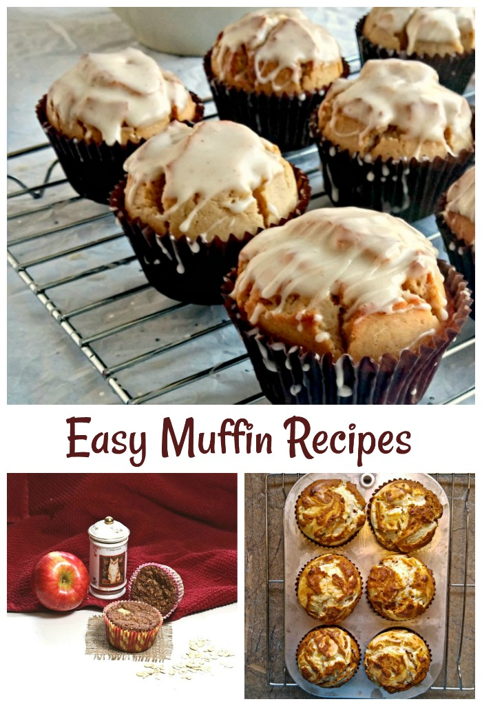 These easy muffin recipes make a great breakfast on the go.