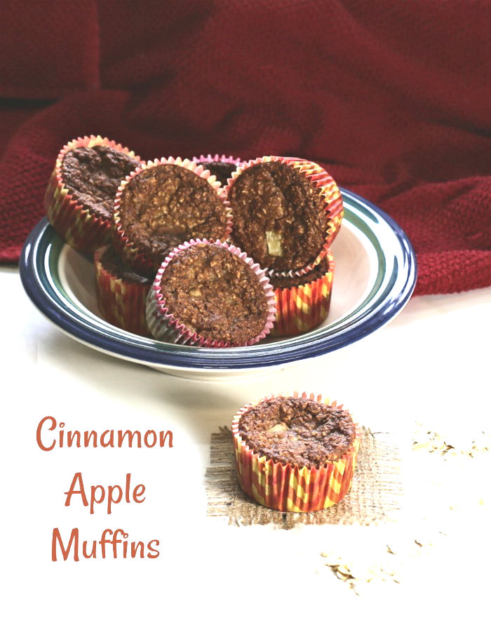 Cinnamon apple muffins are gluten free and only 2 WW Freestyle points