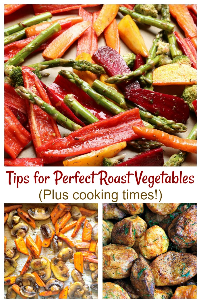 These tips for oven roasted vegetables will give you the perfect side dish every time