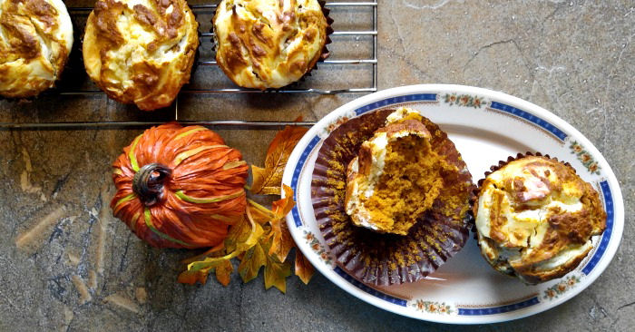 Pumpkin Cheesecake Muffins – Cream Cheese Pumpkin Muffins for Fall