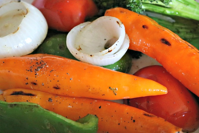 Oven Roasted vegetables make a great side dish.