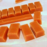 Traditional Chewy Butterscotch Candy