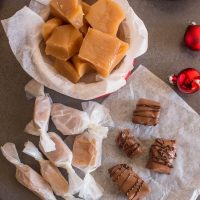 Creamy Old Fashioned Caramel Candies
