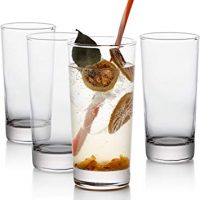 GoodGlassware Highball Glasses (Set of 4)