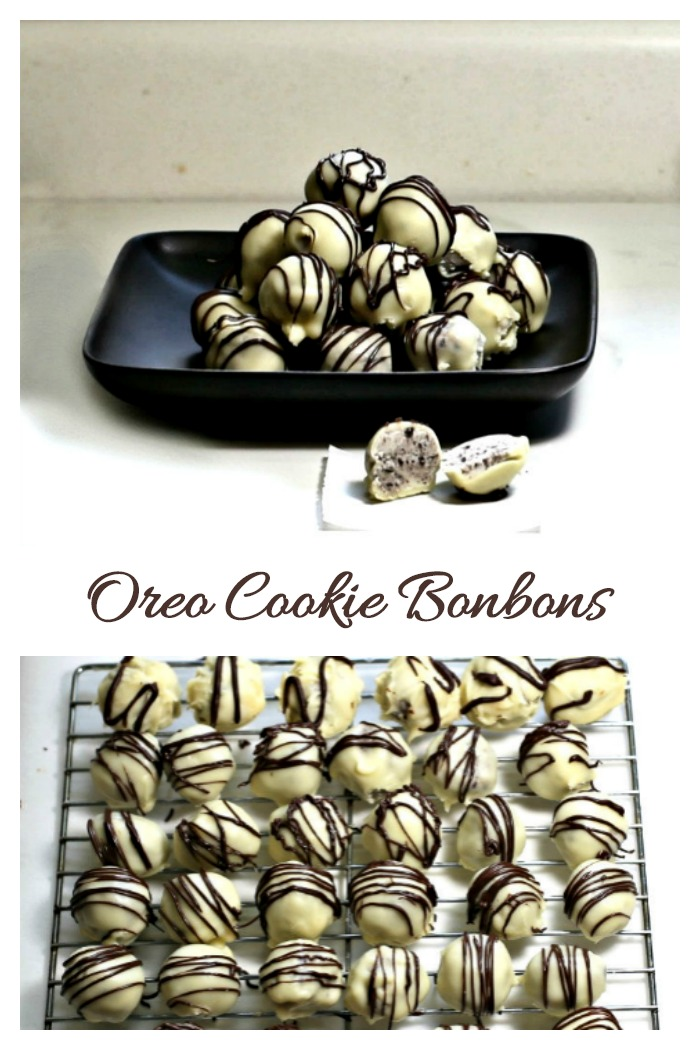 Oreo bonbons made a great Holiday treat