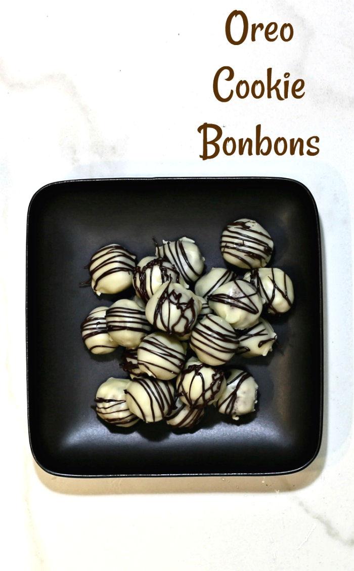 Oreo cookie bonbons