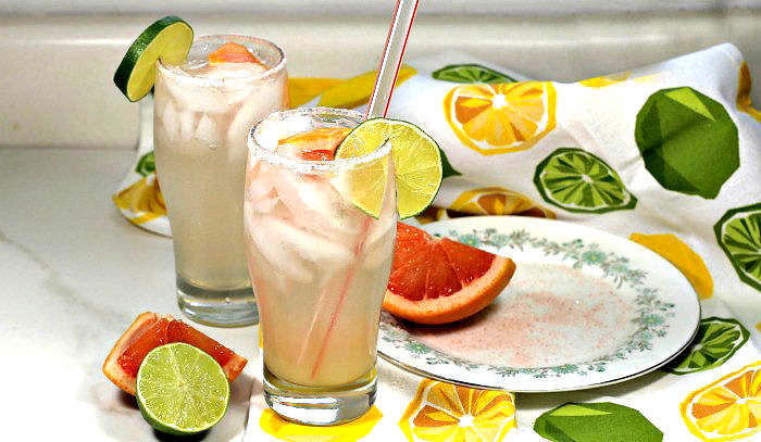 Paloma mixed drink