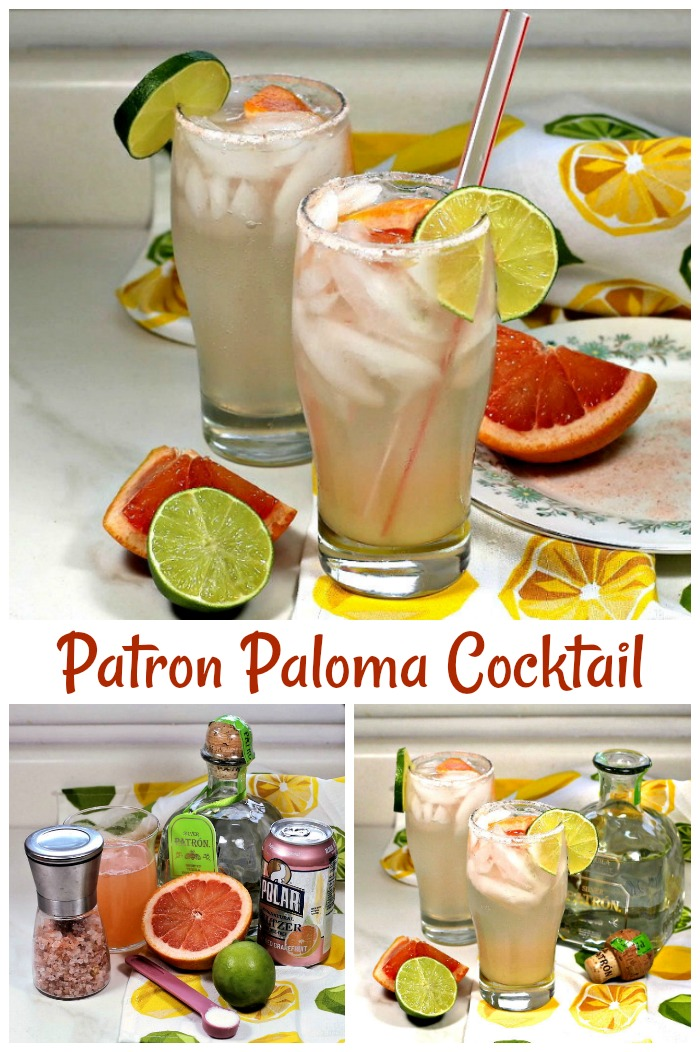 This tequila highball recipe is called a paloma