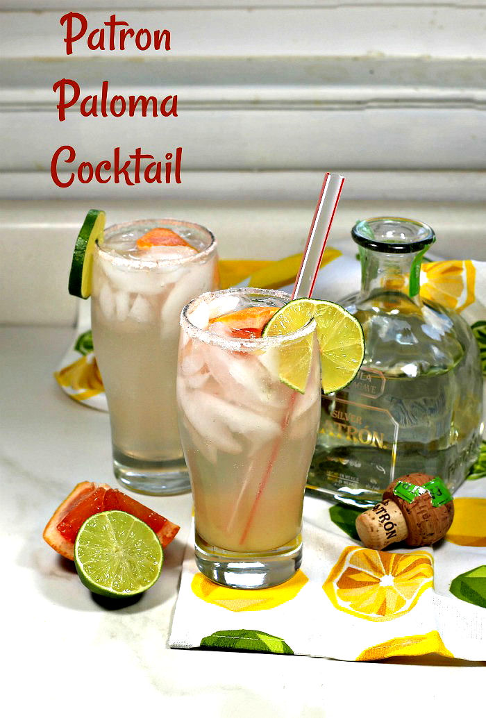 This Paloma tequila cocktail is ready in just five minutes!