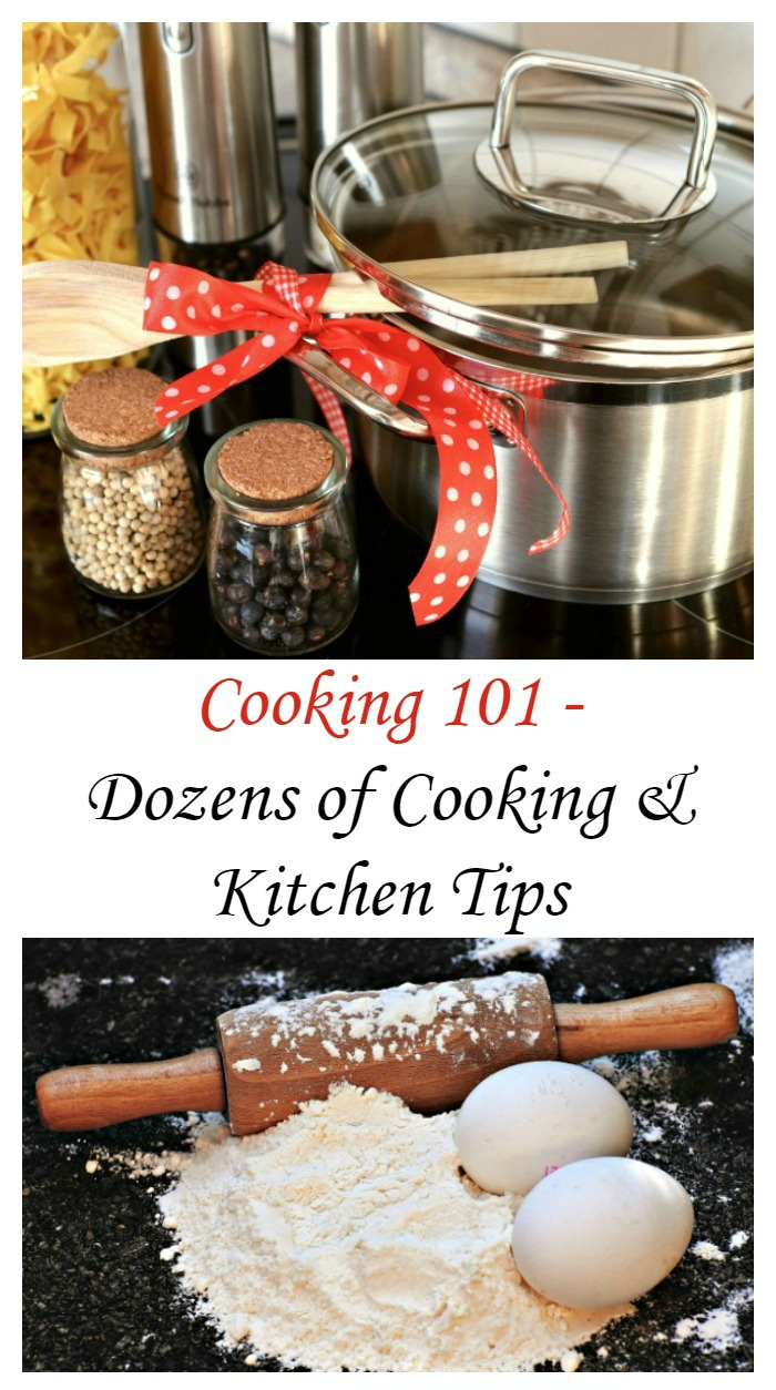 These cooking and kitchen tips will have you being a pro in no time at all.